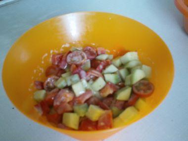 Moniččin zeleninový salátek