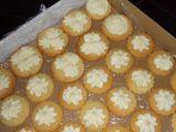 Máslové krémové terčíky recept