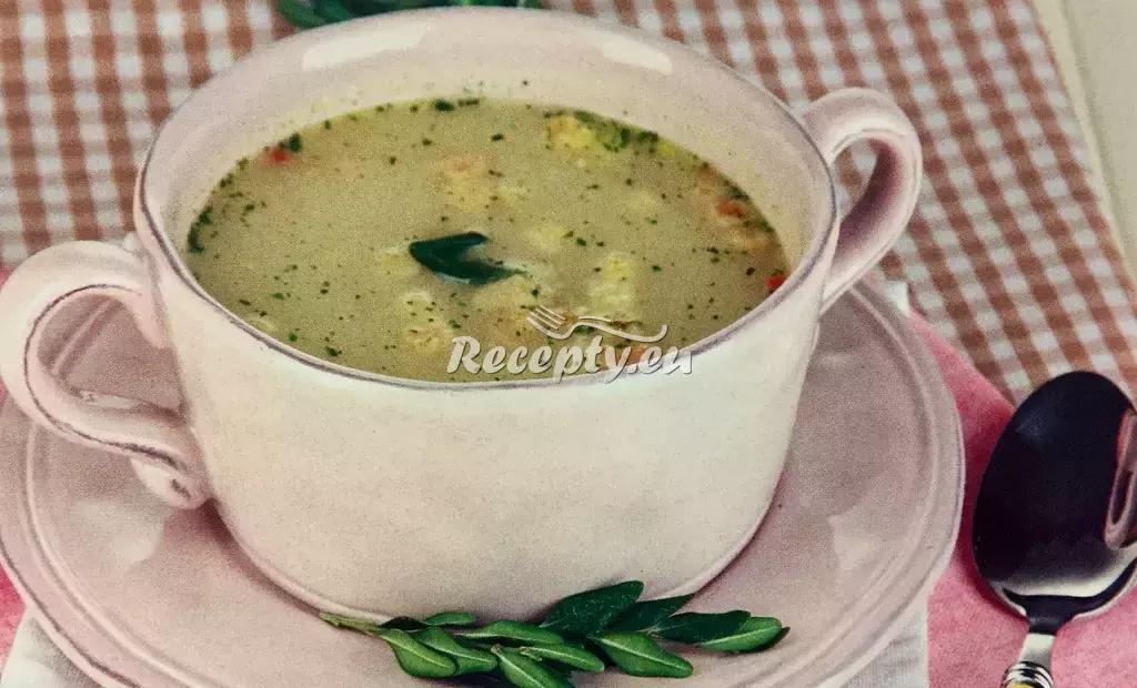 Krémová kuřecí polévka recept  slavnostní pokrmy