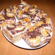 Margot buchta s čokoládou a ovocem recept