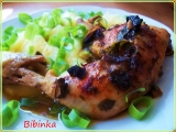 Houbové kuře v celerové a petrželové nati se šťávou recept ...