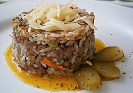Rychlé rizoto z vařené rýže recept