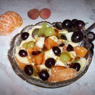 Ovocný salát s ořechy 1 recept