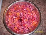 Zeleninovo-ovocný salátek recept
