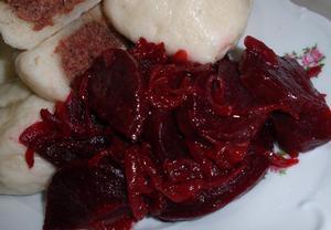 Cibulová červená řepa  sladkokyselá příloha