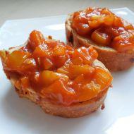 Rajčatová cuketa na bagetce recept