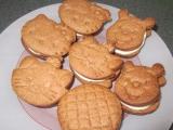 Delikatesní sušenky s mléčnou náplní recept