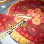 Nepečený ovocný dort s želatinou recept