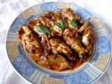 Křidélka v bazalkovo česnekové marinádě recept