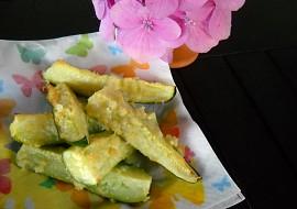 Cuketové hranolky s česnekem a parmazánem recept