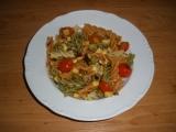Těstovinový salát s tofu recept
