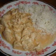 Kuřecí nudličky s bazalkou recept
