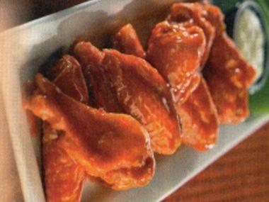 Buffalo wings s dresinkem Blue cheese