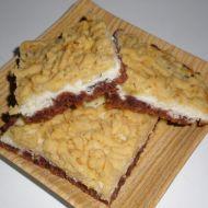 Tvarohový strouhaný koláč recept