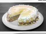 Ananasový dortík s mandlemi recept