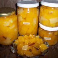 Dýňový kompot s ananasovou příchutí recept