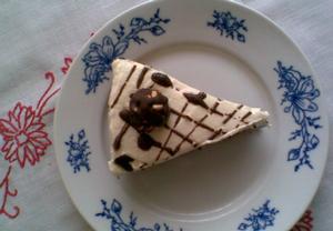 Tvarohový dortík s burisony  nepečený