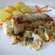 Smetanový amur na zelenině recept