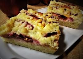 Křehký koláč s nektarinkami recept