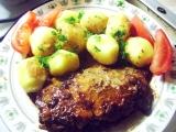 Vepřové steakové plátky v troubě recept