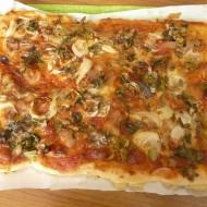 Koláč ala pizza recept