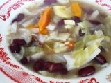 Vánoční fazolová polévka recept