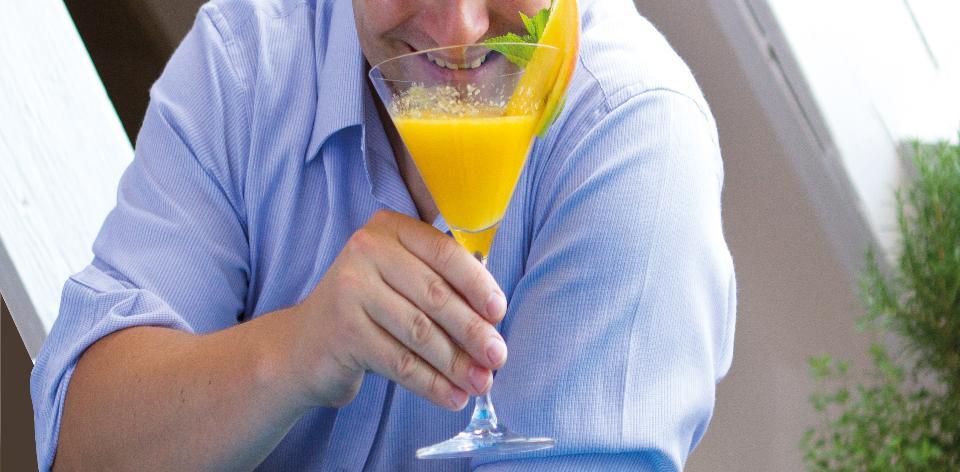 Mangový koktejl