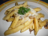 Penne alla Funghi (penne na houbách) recept