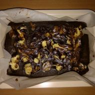 Cheesecake brownies recept