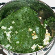 Špenátová nádivka recept