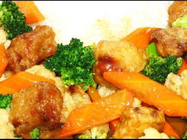Brokolice smažená, obalovaná ve vinném těstíčku