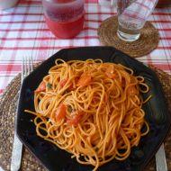 Špagety Arrabbiata recept