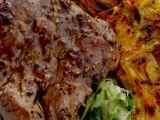 Steak z hovězí svíčkové s pórkovou trávou recept