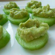 Raw avokádové jednohubky recept