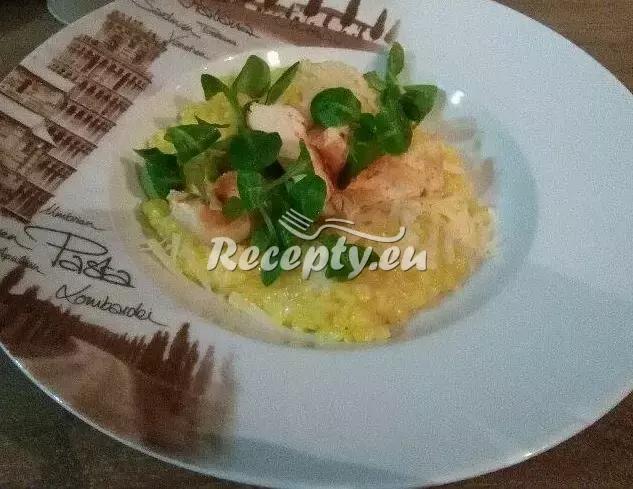 Šafránová rýže na víně recept  rýžové pokrmy