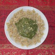 Špenátová omáčka na těstoviny recept