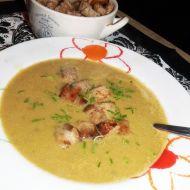 Chřestovo-hrachová krémová polévka recept