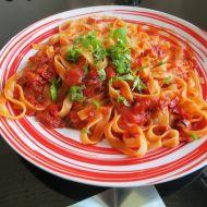 Fettuccine al pomodoro recept