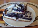 Borůvkový koláč recept