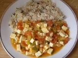 Vegetariánské chilli s tofu recept