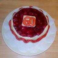 Malinový mini dort recept