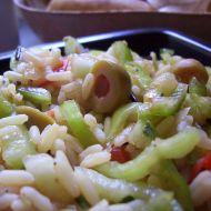 Rýžovo-zeleninový salát recept