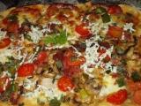 Blesková pizza z jogurtu (kefíru) recept