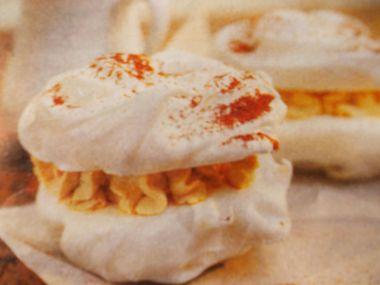 Pusinky s karamelovým krémem