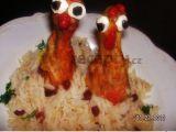Indické kuře se šafránovou rýží recept
