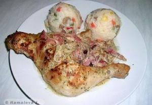 Kuře v jogurtové marinádě II.