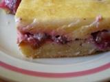 Švestkový rýžový koláč recept