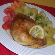 Citronové kuře recept