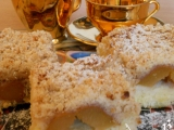 Bramborový koláč s meruňkami recept