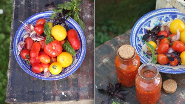 Domácí rajčatové sugo